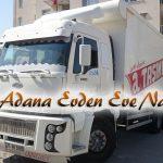 İzmir Adana Evden Eve Nakliyat